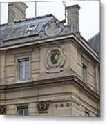 Paris France - Street Scenes - 011358 Metal Print
