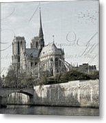 Paris History Metal Print