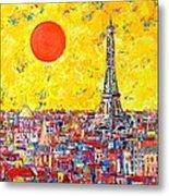 Paris In Sunlight Metal Print