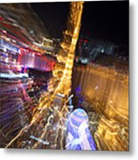 Paris In Vegas Metal Print