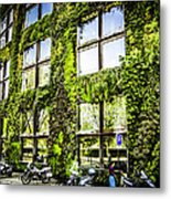 Paris Moss Metal Print