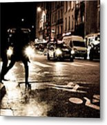 Paris Nights 1 Metal Print