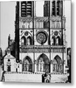 Paris Notre Dame, 1699 Metal Print