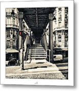 Paris - Old Man Metal Print