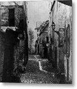 Paris Old Street, C1860 Metal Print