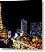 Welcome To Vegas Metal Print
