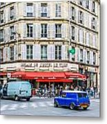 Paris Resturante Metal Print