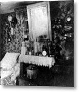 Paris Single Room, C1910 Metal Print