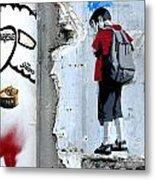 Paris Spraycan 1 Metal Print
