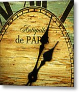 Paris Time Metal Print