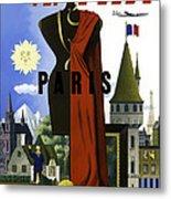Paris Twa Metal Print by Mark Rogan