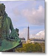 Paris View #4 Metal Print