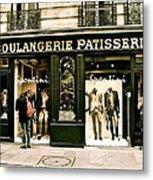 Paris Waiting Metal Print