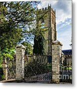 Parish Church Of St Candida And Holy Cross Metal Print