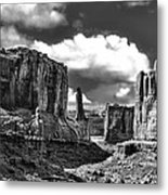 Park Avenue In Arches National Park Metal Print