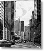 Park Avenue In New York City Metal Print