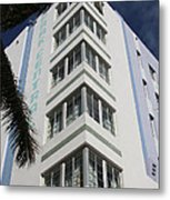 Park Central Building - Miami Metal Print