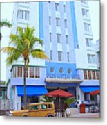 Park Central Hotel Metal Print