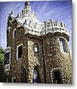 Park Guell - Barcelona - Spain Metal Print