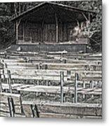 Park Pavilion Stage Metal Print