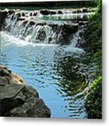 Park Waterfall Metal Print
