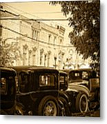 Parked Model A's Metal Print