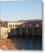 Parker Canyon Dam Metal Print