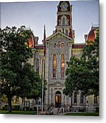 Parker County Courthouse Metal Print