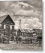 Parker Homestead Metal Print by Ken Smith