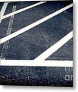 Parking Lot No. 30 Metal Print