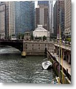 Parking On The Side Metal Print