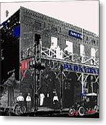 Parkview Hotel Tucson Arizona C. 1908-2011 Metal Print