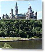Parliament Hill - Ottawa Metal Print