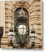 Parliament Lights Metal Print