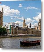 Parliament Metal Print