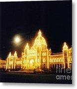 Parliment Building Victoria Metal Print