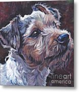 Parson Russell Terrier Metal Print