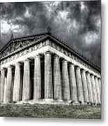 Parthenon Of Nashville Metal Print