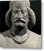 Parthian Warrior From Shami. 1st C Metal Print by Everett