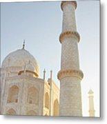 Partial View Taj Mahal Metal Print