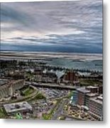 Partially Thawed Lake Erie  Metal Print
