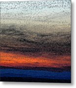 Particles Of Night Metal Print