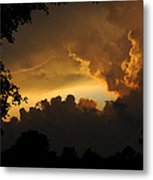 Parting Clouds Metal Print