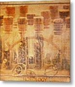 Parts Of Time Metal Print