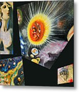 Parts Of Universe Metal Print