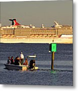 Party Boats Metal Print