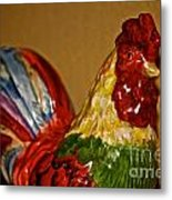 Party Chicken Metal Print
