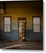 Partys Over  Metal Print