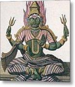Parvati, From Voyage Aux Indes Et A La Metal Print