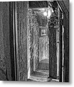 Passageway At Fonthill Castle Metal Print
